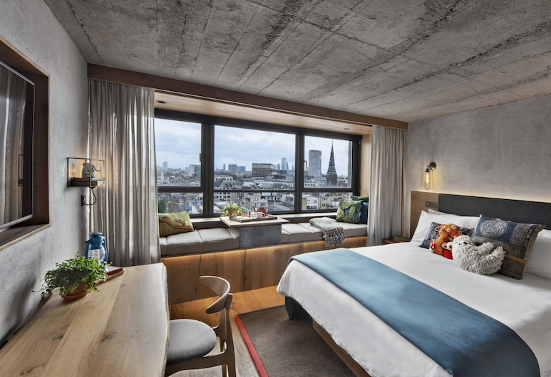 Treehouse Hotel London, London, Zimmer, 1 King-Bett (Lookout), Zimmer