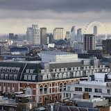 Kamer, 1 queensize bed (Skyline) - Uitzicht op stad