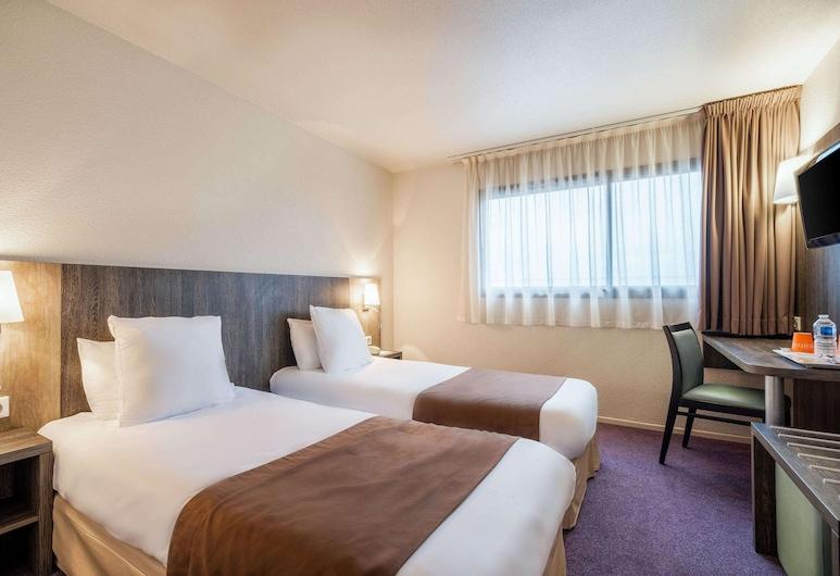Comfort Hotel Toulouse Sud, Ramonville-Saint-Agne, Standardzimmer, 2Einzelbetten, Nichtraucher, Zimmer