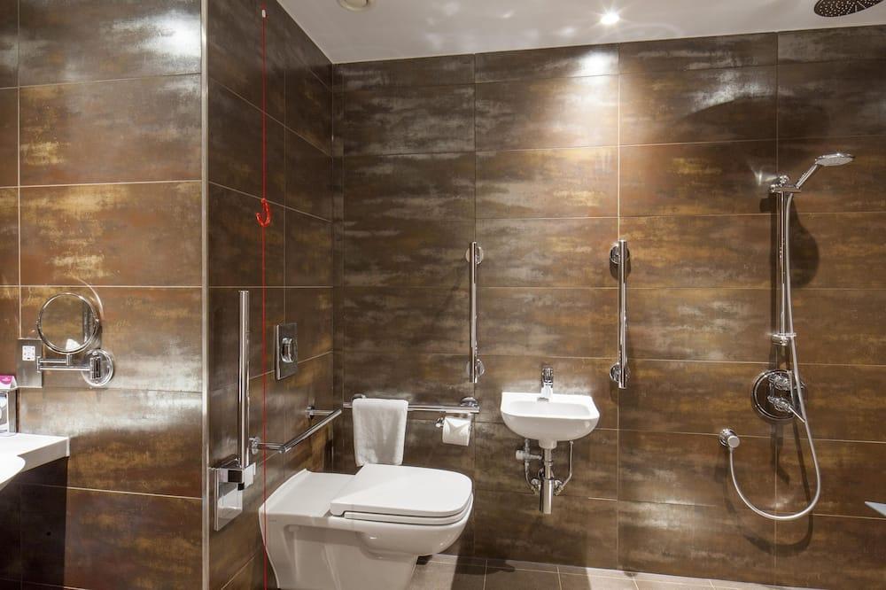 Kambarys, su patogumais neįgaliesiems (1 Bed, Roll In Shwr) - Vonios kambarys