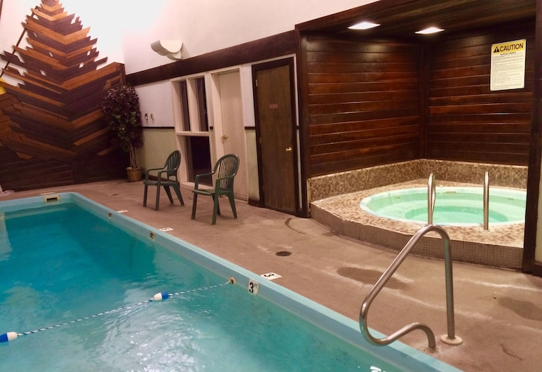 蒙大拿州雷德洛治羽扇豆旅馆, 红屋市, 室内游泳池