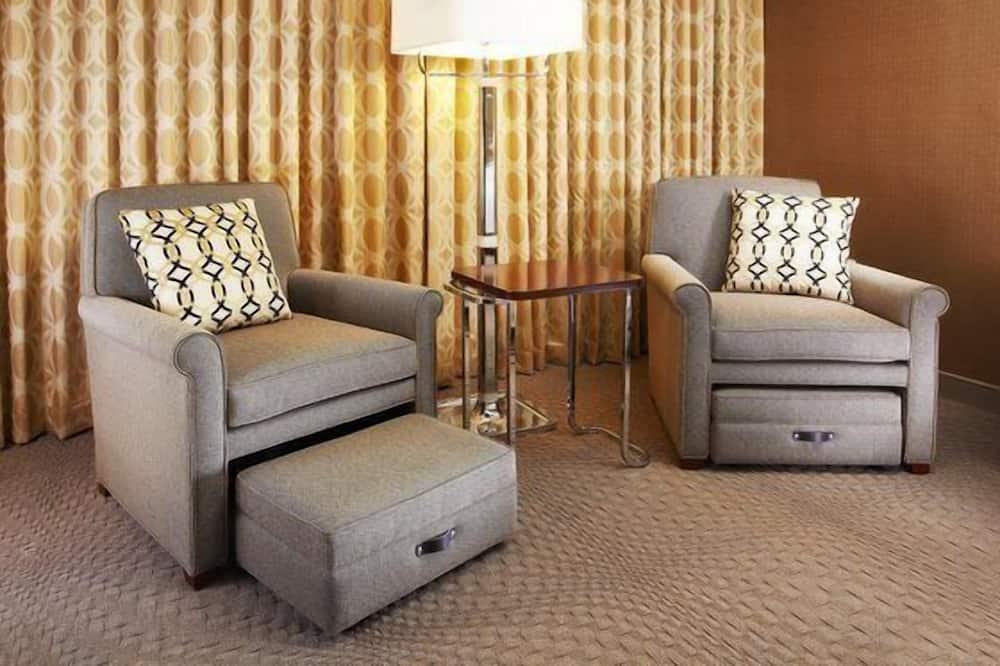 Suite, 1 cama de matrimonio grande con sofá cama - Zona de estar