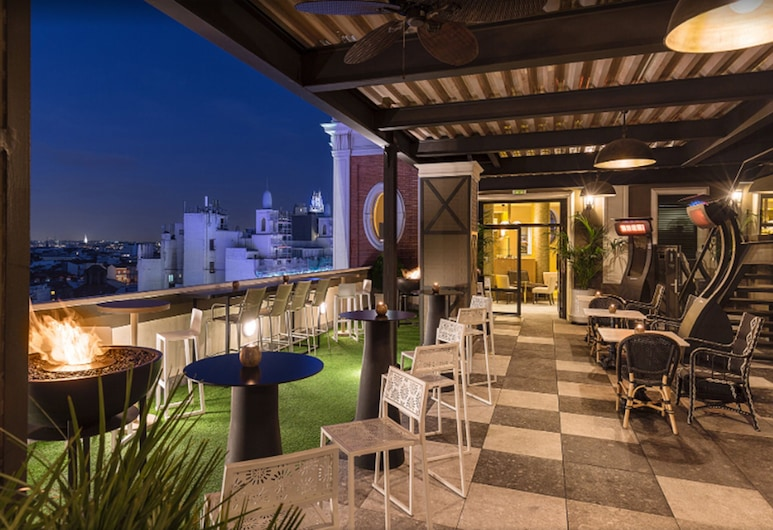 ホテル エンペラドール, マドリード, 屋外レストラン