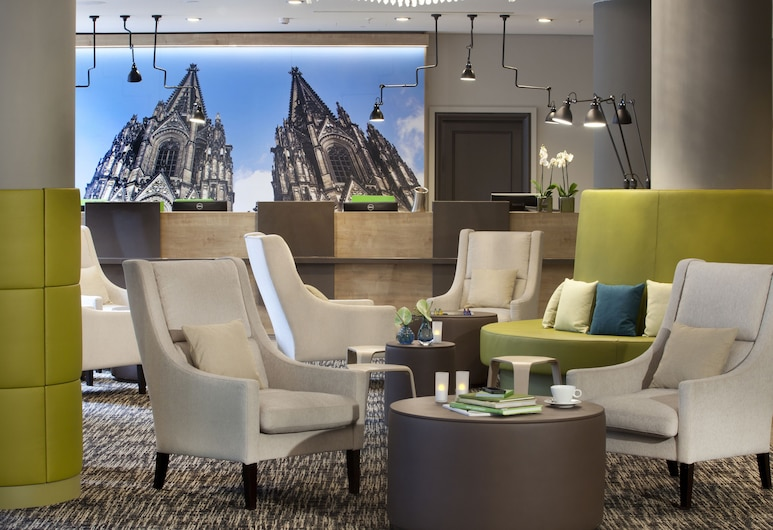 Lindner Hotel City Plaza, Cologne, Lobby Sitting Area