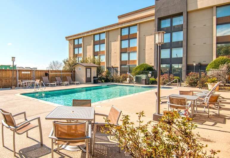 Fairfield Inn & Suites Dallas DFW Airport South/Irving, Irving, Basen odkryty