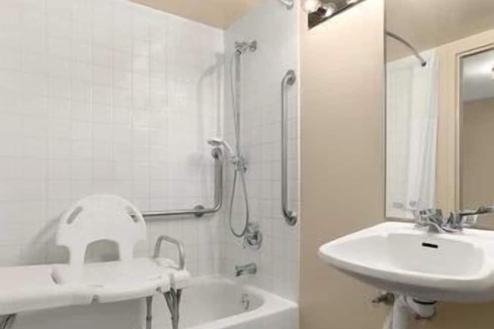 客房, 1 張特大雙人床, 無障礙 - 浴室