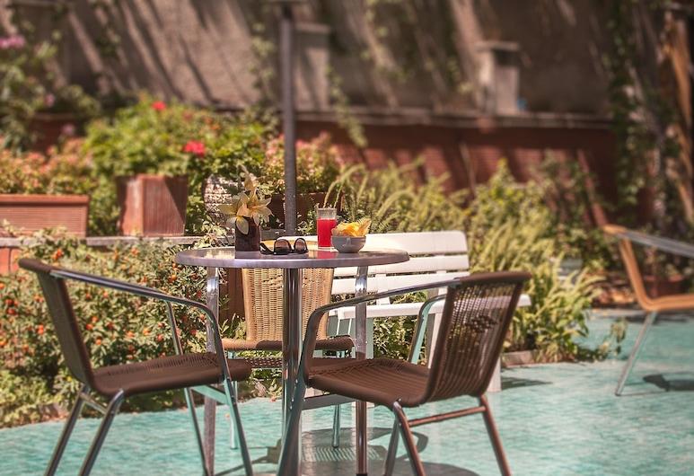 Tirreno Hotel, Rome, Garden