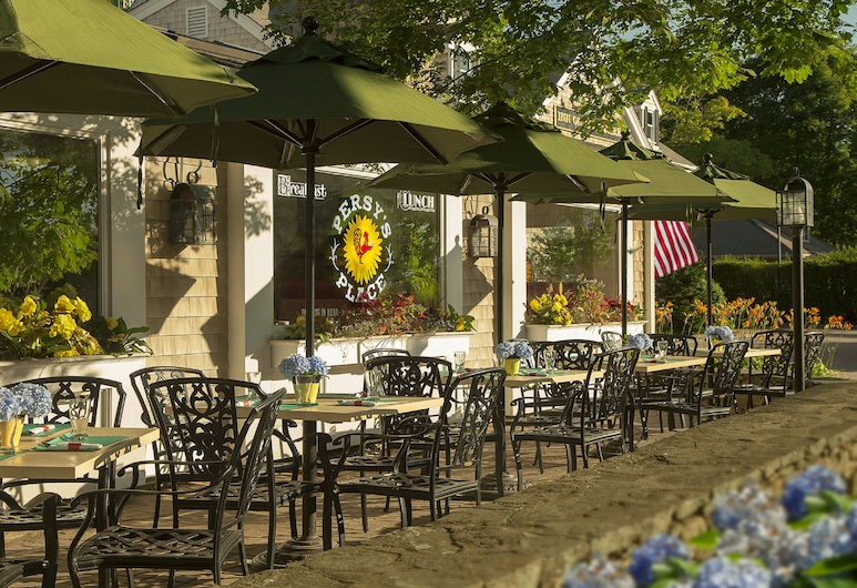 Inn on the Square, Falmouth, Outdoor Dining