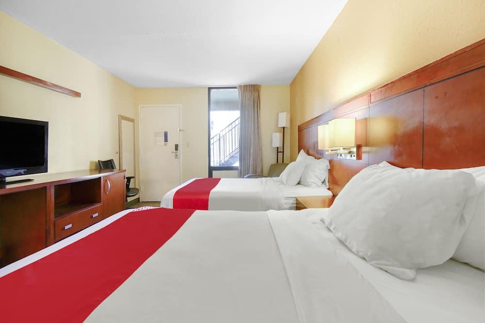 חדר, 2 מיטות זוגיות, למעשנים - חדר אורחים