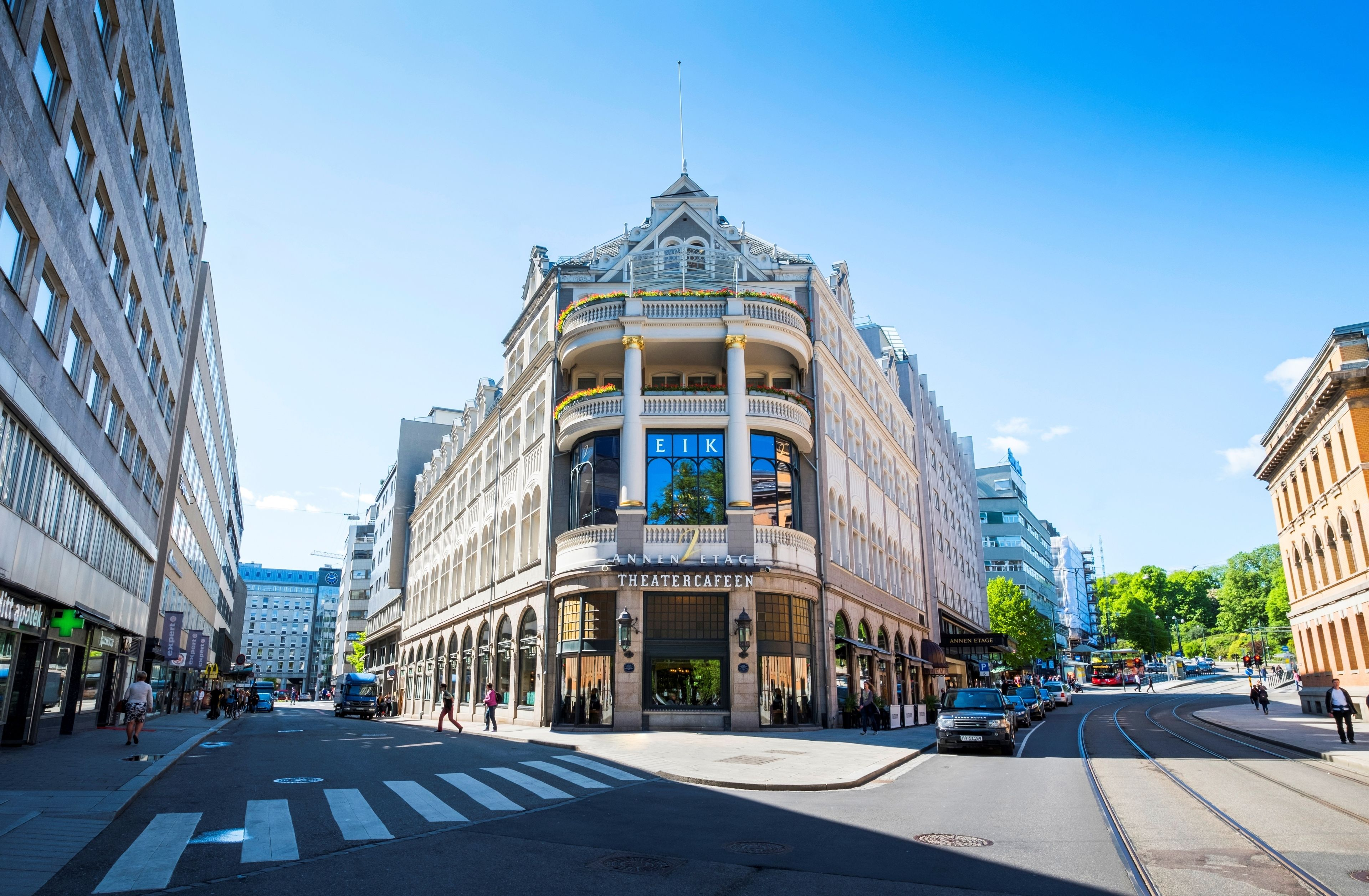 Hotel Continental, Oslo, Hotellets front