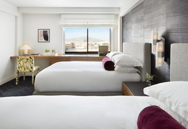 Kimpton Alton Hotel - Fisherman's Wharf, an IHG Hotel, San Francisco, Premium-herbergi - 1 einbreitt rúm - útsýni yfir flóa, Herbergi