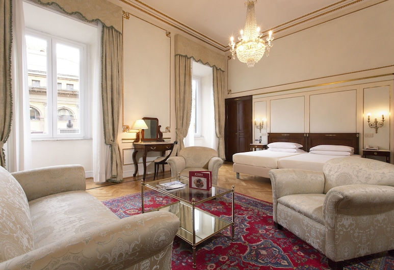 Hotel Quirinale, Rome, Junior Suite, Guest Room