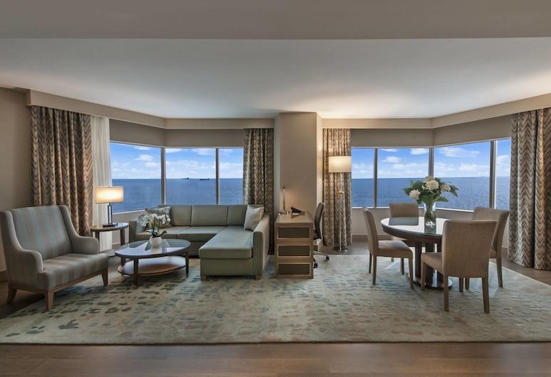 Renaissance Polat Istanbul Hotel, Estambul, Suite Club, 1 habitación, para no fumadores (Ocean Suite), Habitación