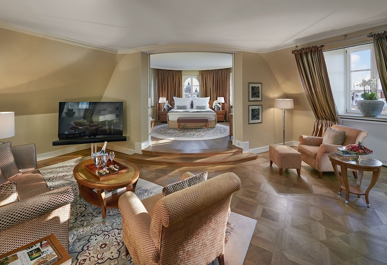 Mandarin Oriental, Munich, Munich, Suite, en angle, Chambre