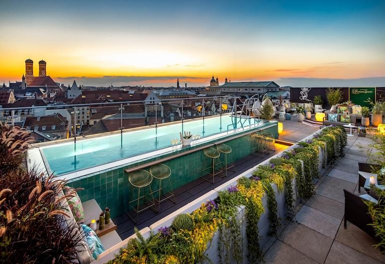 Mandarin Oriental, Munich, Munique, Piscina no Terraço