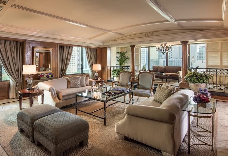 馬尼拉半島酒店, 馬卡提, 總統套房, 客廳