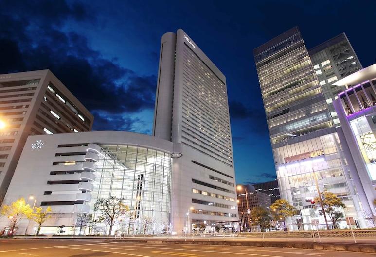힐튼 오사카, 오사카, 호텔 정면 - 저녁/밤
