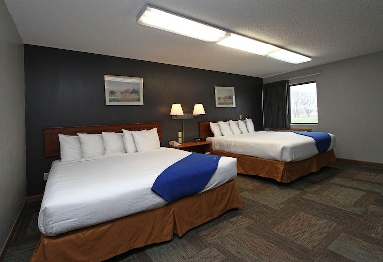 New Victorian Inn Norfolk, Norfolk, Standardzimmer, 2Queen-Betten, Zimmer