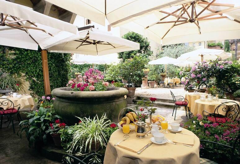 Hotel Monna Lisa, Florence, Restauration en terrasse