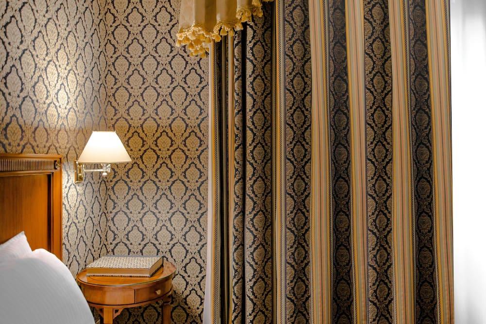 חדר סטנדרט יחיד, מיטת קווין - חדר רחצה