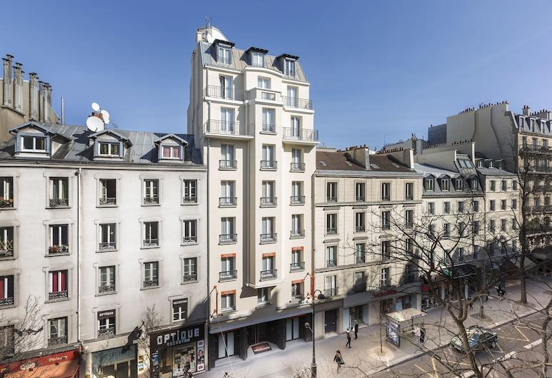 Libertel Canal Saint Martin, פריז, חזית המלון