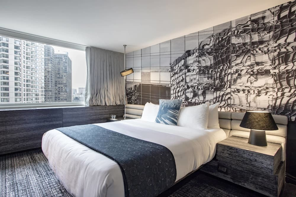 City Room, 1 King Bed, Non Smoking, City View (Wonderful Room) - City View