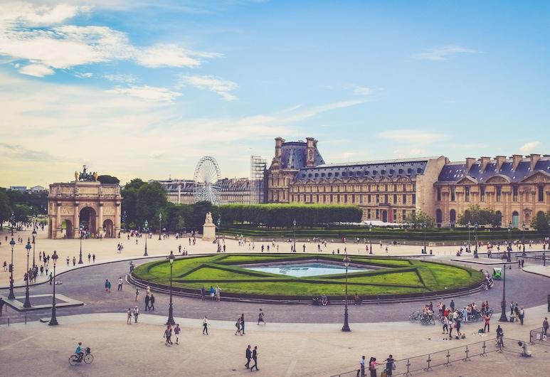 特洛加德洛之星酒店, 巴黎, 庭園