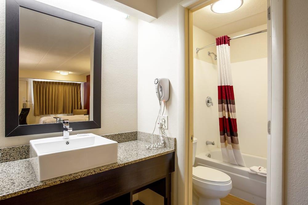 尊榮客房, 1 張特大雙人床 (Upgraded Bedding & Snack, Smoke Free) - 浴室