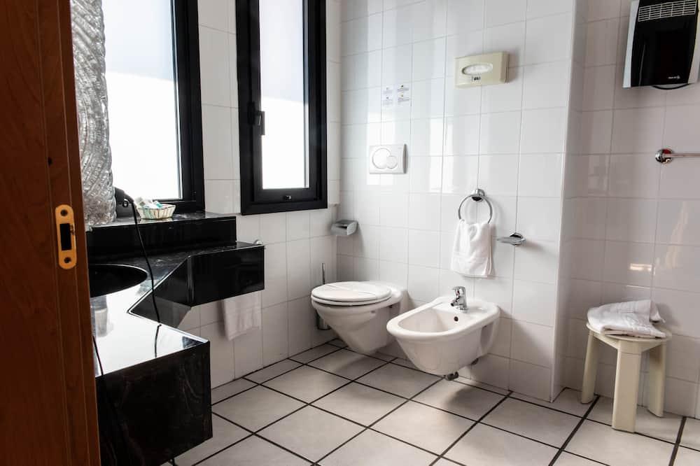 經濟單人房 - 浴室