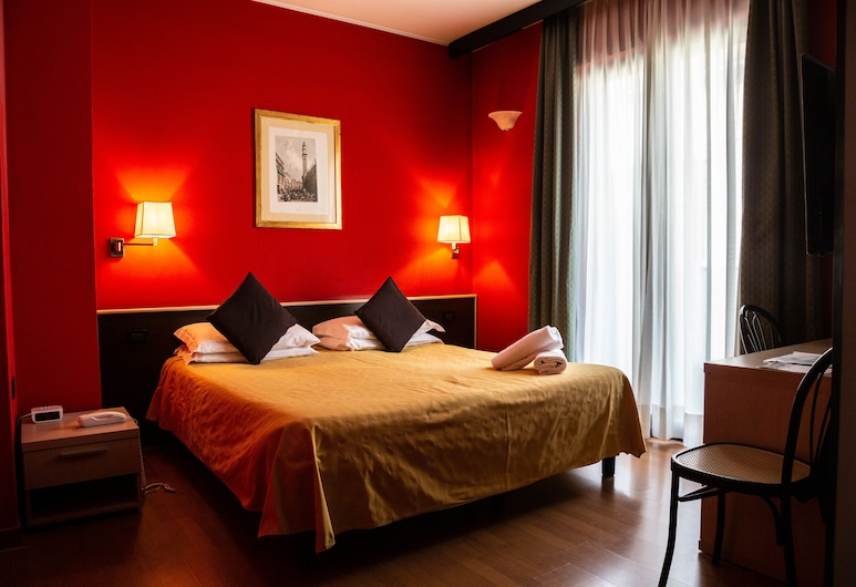 Hotel Berlino, Milan, Double or Twin Room, Guest Room