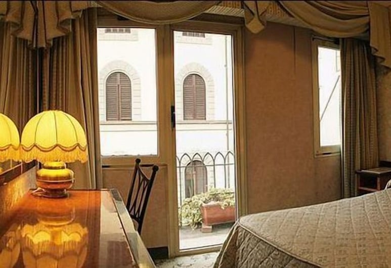 Hotel Bonciani Palazzo Pitti Broccardi, Florens, Enkelrum, Gästrum