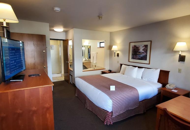 Baymont by Wyndham Seattle/Kirkland WA, Кіркленд, Студія-люкс, 1 ліжко «кінг-сайз», для некурців, Номер