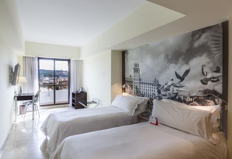 Expo Hotel Barcelona, Barcelone, Chambre Simple Standard, balcon (Small), Chambre