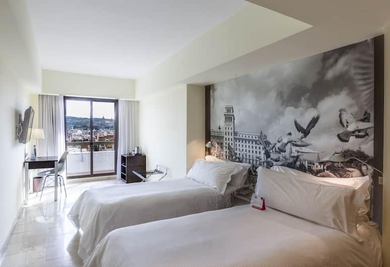 Expo Hotel Barcelona, Barcelona, Standard-Einzelzimmer, Balkon (Small), Zimmer