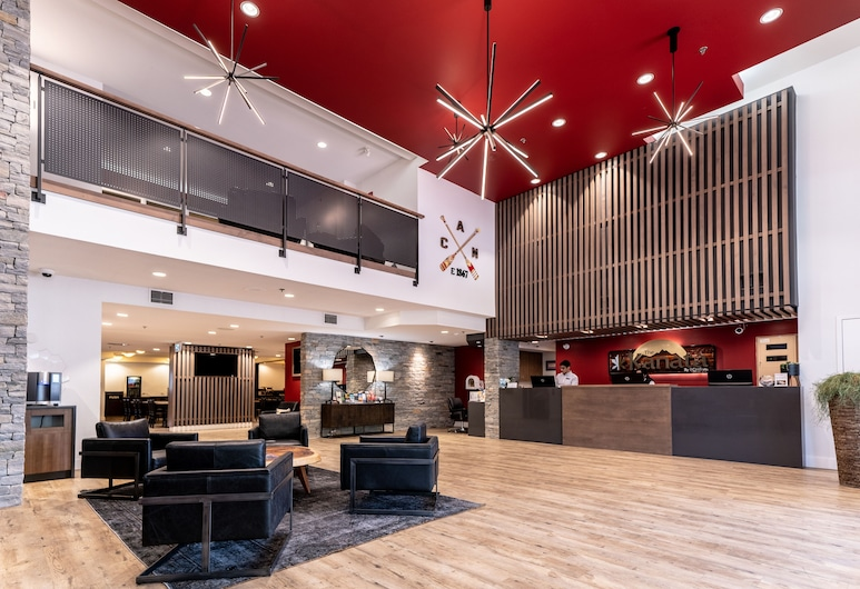 Kanata Kelowna Hotel & Conference Centre, Kelowna, Rezeption