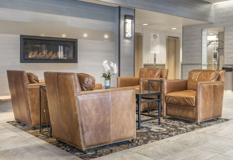 Westmark Anchorage Hotel, אנקורג', אזור ישיבה בלובי