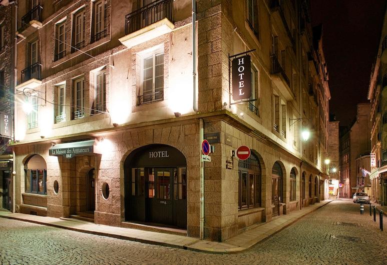 La Maison des Armateurs, Saint-Malo, Hotelfassade