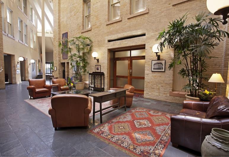 Crockett Hotel, San Antonio, Salottino della hall