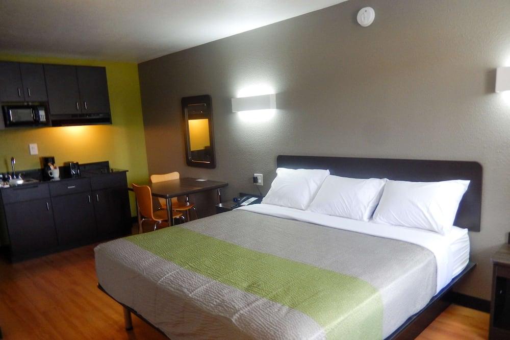 Deluxe kamer, 1 kingsize bed, niet-roken, kitchenette - Kamer