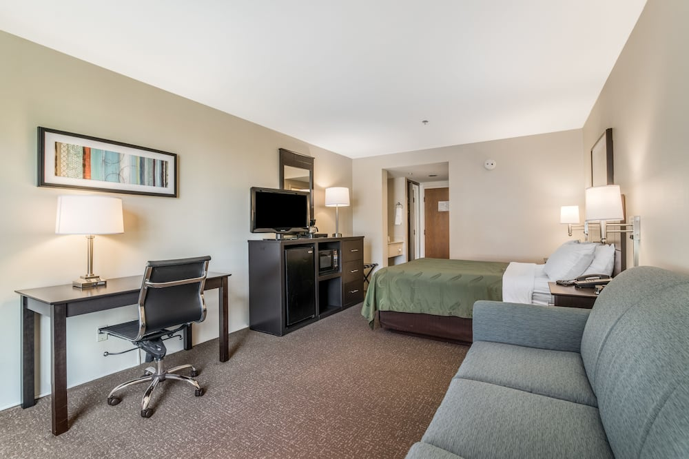 Standard Room, 1 Queen Bed with Sofa bed, Non Smoking - Living Area