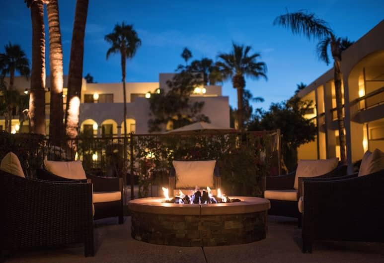 棕櫚山度假溫泉飯店, 棕泉市, 外觀