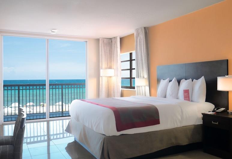Ramada Plaza by Wyndham Marco Polo Beach Resort, Sunny Isles Beach, Camera, 1 letto king, vista, fronte mare (Non-Smoking), Camera