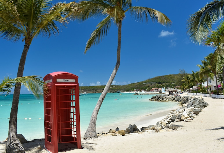 Antigua Village Beach Resort, Σεντ Τζονς, Παραλία