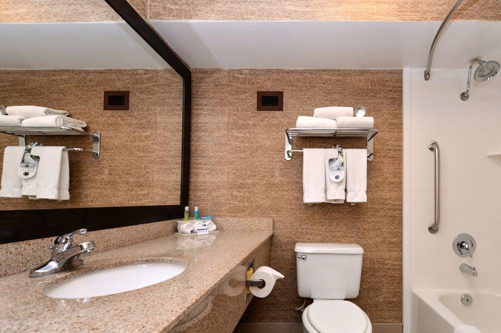 Standard Room, 1 Queen Bed, Accessible (Roll-In Shower) - Bathroom