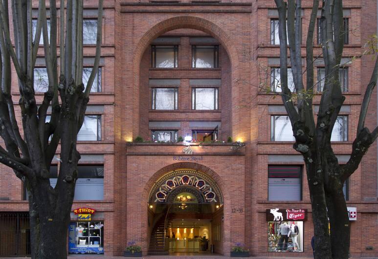 NH Bogotá Boheme Royal, Bogotá, Fachada del hotel