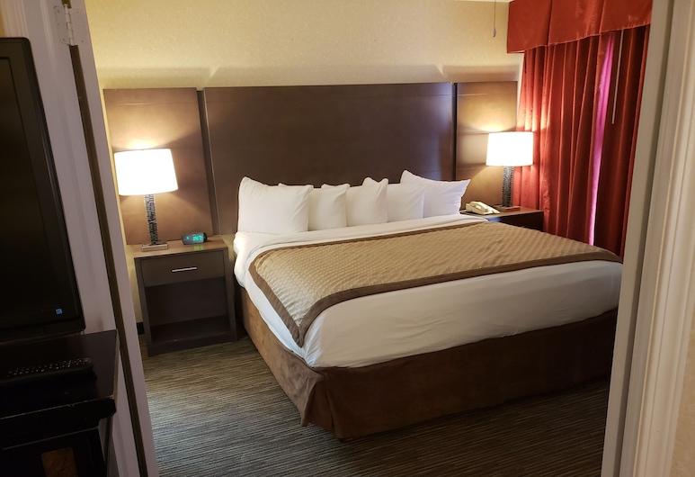 Hawthorn Suites by Wyndham Detroit Warren, Warren, Deluxe-Suite, 1King-Bett, Nichtraucher (One-Bedroom), Zimmer
