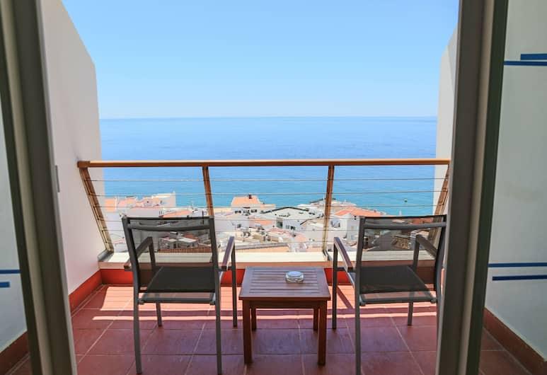 Belver Boa Vista Hotel & Spa - Adults Only, Albufeira, Pokoj Executive s dvojlůžkem, výhled na moře, Balkón