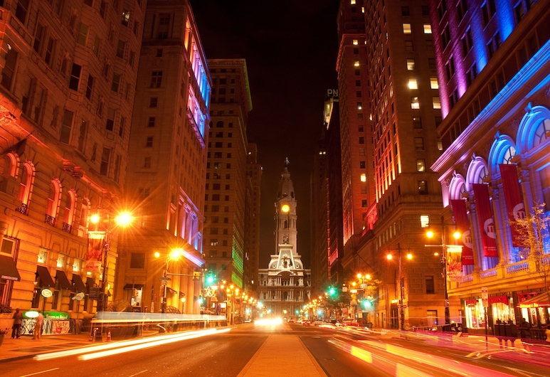 DoubleTree by Hilton Philadelphia Center City, Philadelphia, Vista desde el hotel