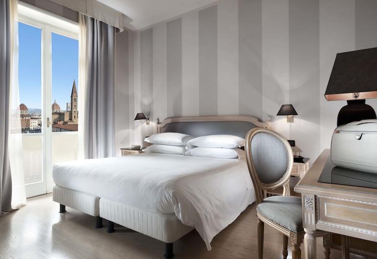 c-hotels Ambasciatori, פירנצה, סוויטה קלאסית, נוף, חדר אורחים