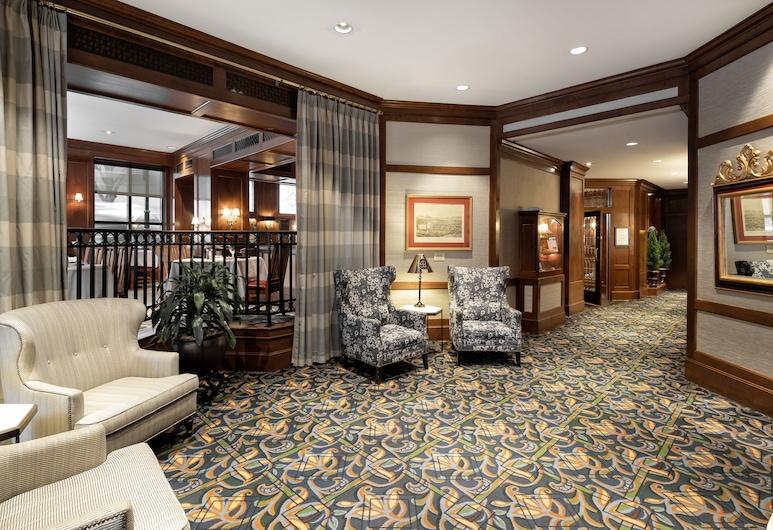 The Berkeley Hotel, Ričmonda, Vestibila uzgaidāmā zona